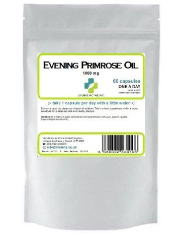 Evening Primrose Oil 1000Mg Quality Gla Softgel 60 Capsules