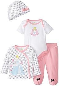 Disney Baby Girls'  Girls 4 Piece Gif…
