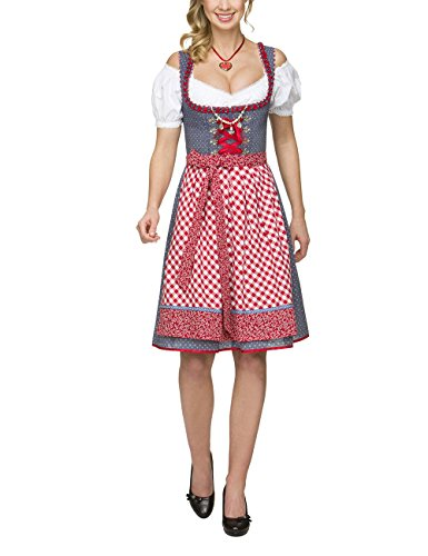 Stockerpoint Damen Dirndl Jolanda, Blau (Retro-Blue), 44 thumbnail