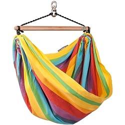 La Siesta Iri - Sedia/amaca per bambini, fantasia: arcobaleno