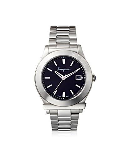 Salvatore Ferragamo Men's FF3940014 1898 Silver/Black Stainless Steel Watch