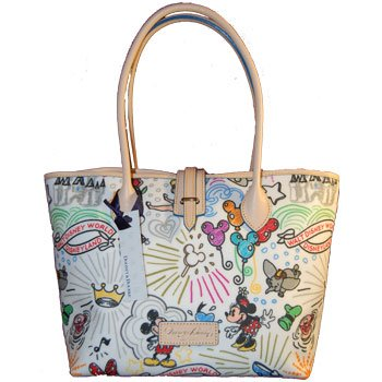 Disney Dooney & Bourke Sketch Medium Handbag