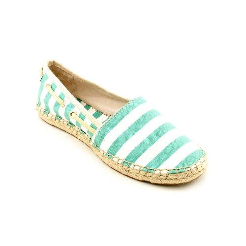 Vince Camuto Jerla Womens Size 7.5 White Textile Espadrilles Shoes