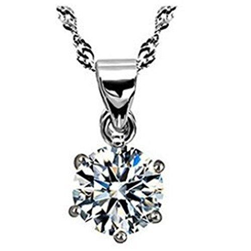 LadyHouse Korea Style Accessories Austria Import Zircon Necklace