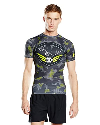 Under Armour Camiseta Manga Corta Ct F-15 Compression Gris