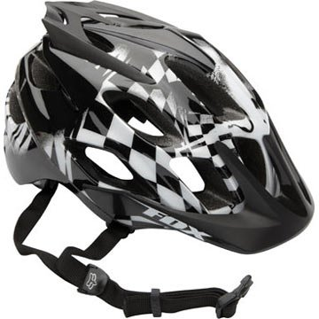 Fox Flux white/black (Head circumference: 59 - 61 cm)