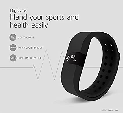Link-Plus-Go-Fit-Pro-3D-Fitness-Band-Black-For-Samsung-Galaxy-S5