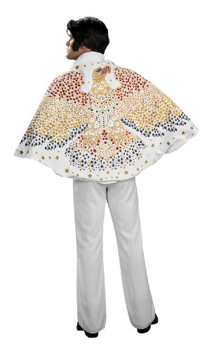 Elvis Cape with Eagle Design Costume