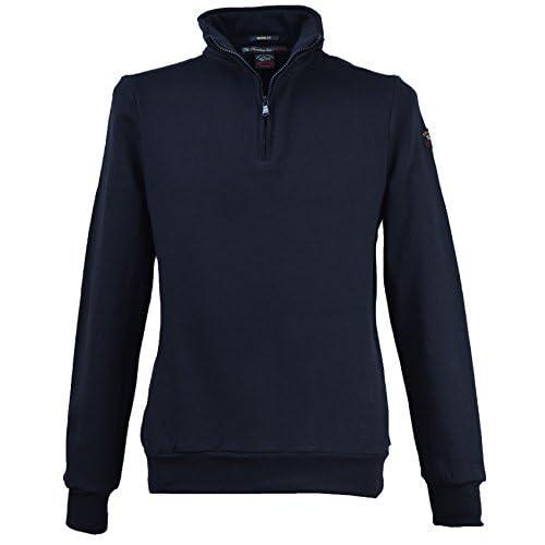 Paul & Shark Men`s 1 2 Zip Sweatshirt 14P1029SF Navy