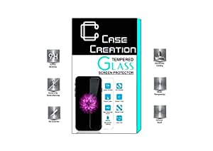 Case Creation (TM) Tempered Glass Screen Guard Protector for Gionee S Plus / GioneeSPlus +
