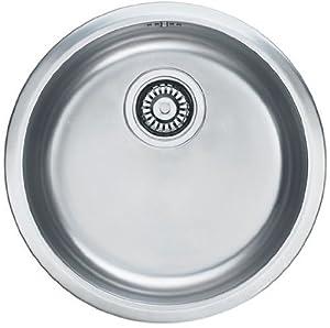 Franke Round Sink : Franke inset sink Pamira RBX 110-38 stainless steel / round basin ...