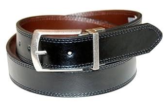 Dickies Men's 35mm Reversible Belt, Black/Brown, 32