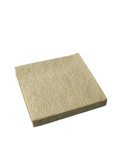 Lene Bjerre Paper napkin  40x40cm (18 pack)  94205, Light Gold