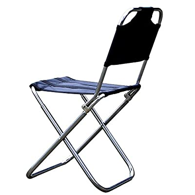 Ezyoutdoor® Packseat Walkstool Compact Stool Portable Folding Chair with Case for Camping, Fishing,Hiking,Sports & Travel Photography for Child