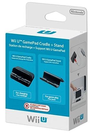 Wii U - GamePad Cradle + Stand (Stazione di ricarica + Supporto per GamePad)