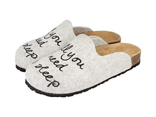 Gioseppo - Sleep, Pantofola da donna, grigio, 41