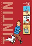 Georges Remi Hergé The Adventures of Tintin: Volume 4 (Compact Editions): The Crab with the Golden Claws / The Shooting Star / The Secret of the Unicorn: