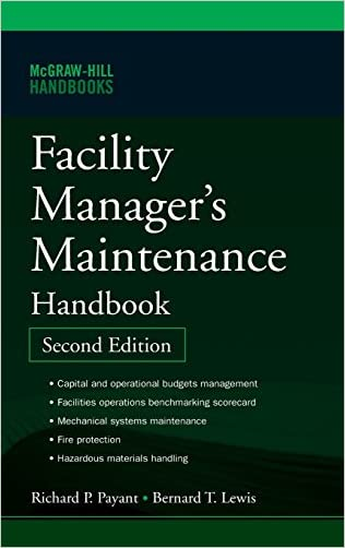 Facility Manager's Maintenance Handbook written by Bernard Lewis
