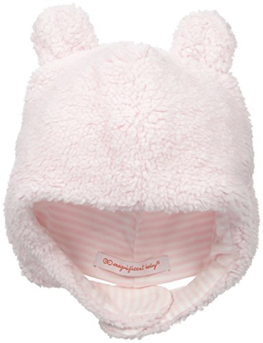 Magnificent Baby Baby-Girls Fleece Hat, Pink Icing, 0-6 Months