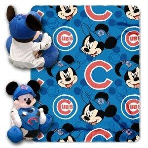 Chicago Cubs Disney Hugger Blanket by Hall of Fame Memorabilia