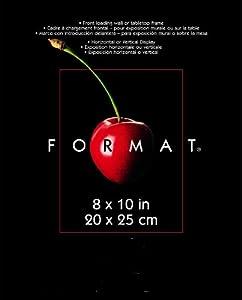 6/pack 8x10 Format Frame Black MCS