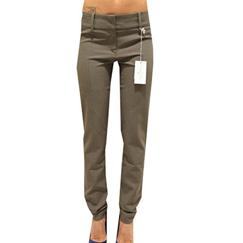 9639F pantaloni grigi PATRIZIA PEPE LANA VERGINE pantaloni donna trousers women [40]