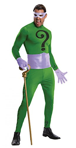 Grand Heritage The Riddler Costume - Standard - Chest Size 46 at Gotham City Store