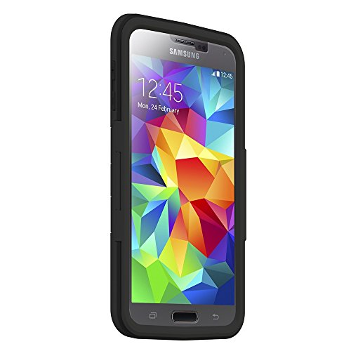 Seidio Samsung Galaxy S5 Capsa Combo With Kickstand - Black