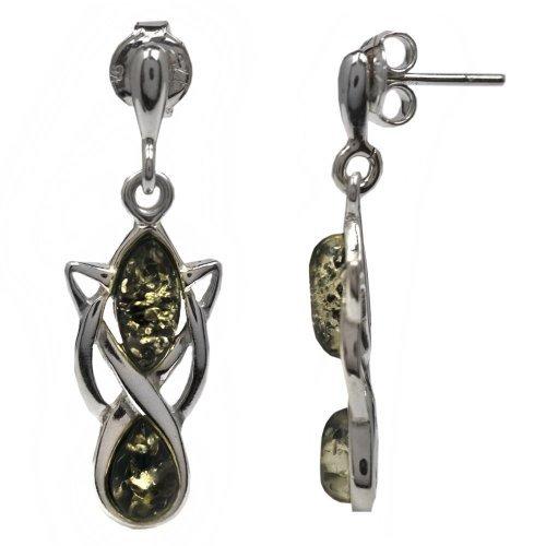 noda-orecchini-in-ambra-verde-e-argento-sterling-stile-celtico