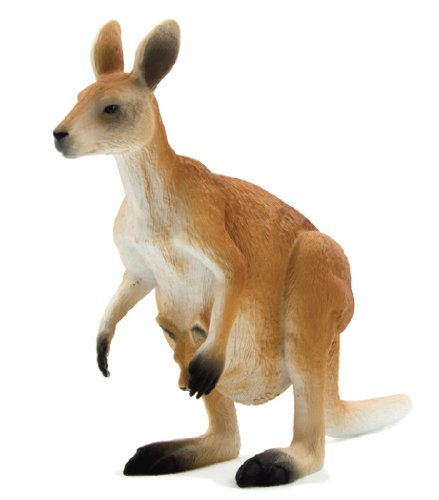 Mojo Fun 387022 Kangaroo - Realistic International Wildlife Toy Replica - 1