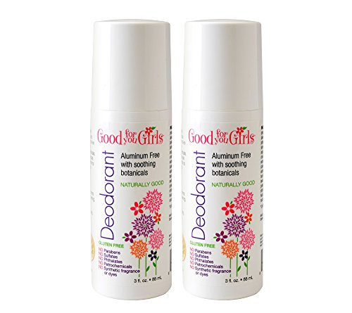 Good For You Girls All Natural Aluminum Free Deodorant (2 Pack, 3oz) (Kids Body Spray compare prices)