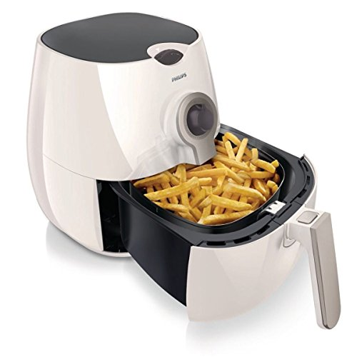 Philips Viva Collection HD9220/53 Air Fryer with Rapid Air Technology (White/Silver)