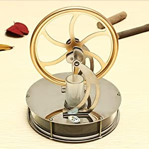 [NEW] Low Temperature Stirling Engine Motor Model Steam Heat Education Toy Kits