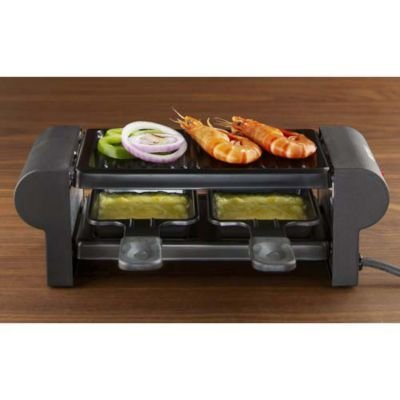 boska mini raclette heizt schnell auf mit grillplatte 30 x 10 x 10 cm h 350 w raclette. Black Bedroom Furniture Sets. Home Design Ideas