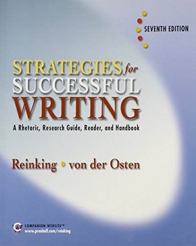 Strategies for Successful Writing, 7th Package