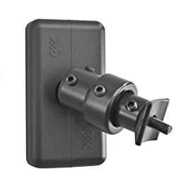 Pinpoint Mounts AM24-Black Universal Wall Mount for Home Theater Speaker