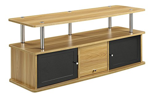 Convenience Concepts TV Stand with 3 Cabinets