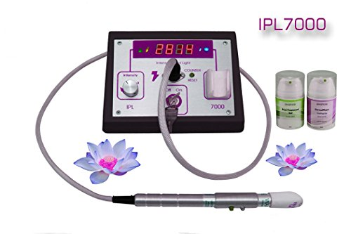 IPL7000 Photoepilation System Salon and Home Use IPL Laser Hair Removal Machine *Black* (Rio Salon Laser Hair Removal compare prices)