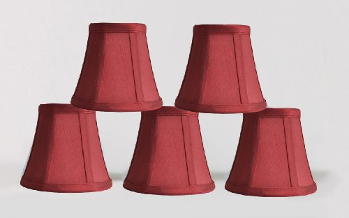 Fancy and also read review customer opinions just before buy Urbanest b Set of Chandelier Mini Lamp Shades inch Bell Clip On Burgundy