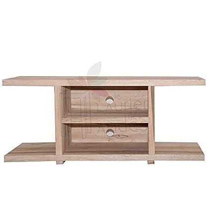 TV-Schrank aus Holz natur