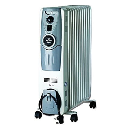 Majesty 11F 2500W Oil Filled Radiator Room Heater