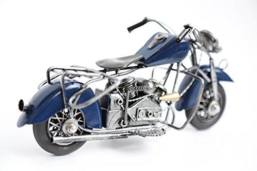 Berry President® Harley-davidson Sportster Iron Diecast Motorcycle Vehicle Model (Blue)