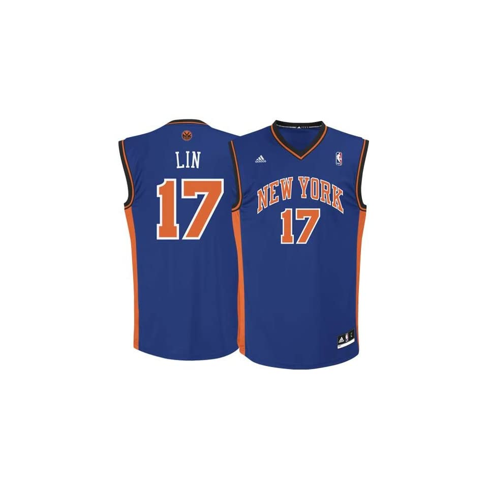 official photos eee61 ef439 N.Y. Knick Jersey Adidas Jeremy Lin New York Knicks on PopScreen