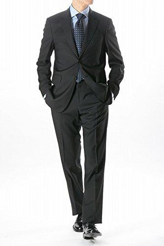 バーバリー (BURBERRY) シングル2つ釦スーツ/テーラードジャケット/ブラック【メンズ】【46R】【並行輸入品】