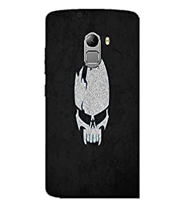 PrintDhaba Skull D-2217 Back Case Cover for LENOVO VIBE K4 NOTE (Multi-Coloured)