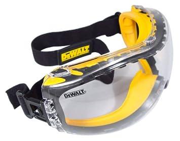 DEWALT DPG82-11C Concealer Clear Anti-Fog Dual Mold Safety