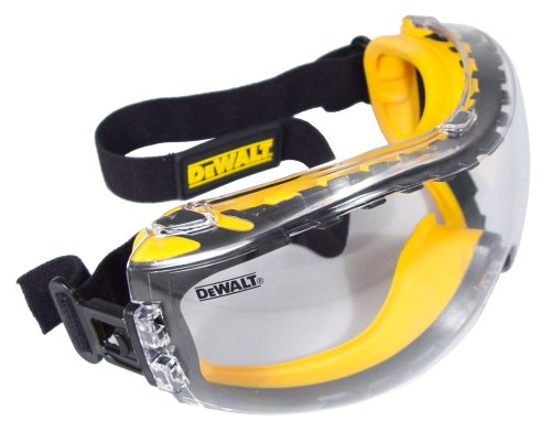 Images for DEWALT DPG82-11C Concealer Clear Anti-Fog Dual Mold Safety Goggle