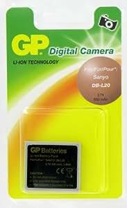 GP Batterie de type Sanyo DB-L20 pour Appareil Photo Numérique Sanyo