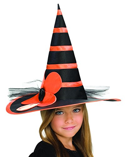 Rubies Child's Orange Sunflower Witch Hat