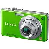"""Panasonic Lumix DMC-FS7EF-G Appareil photo compact numérique 10,1 Mpix Zoom optique 4x Ecran LCD 2,7"""" Stabilisé Vert"""